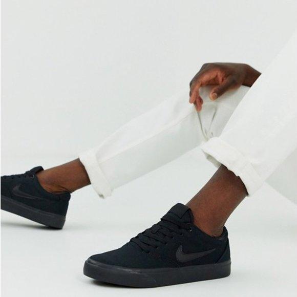 chaussure de skateboard nike sb charge canvas
